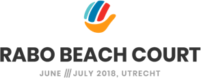 Rabo Beach Court Logo